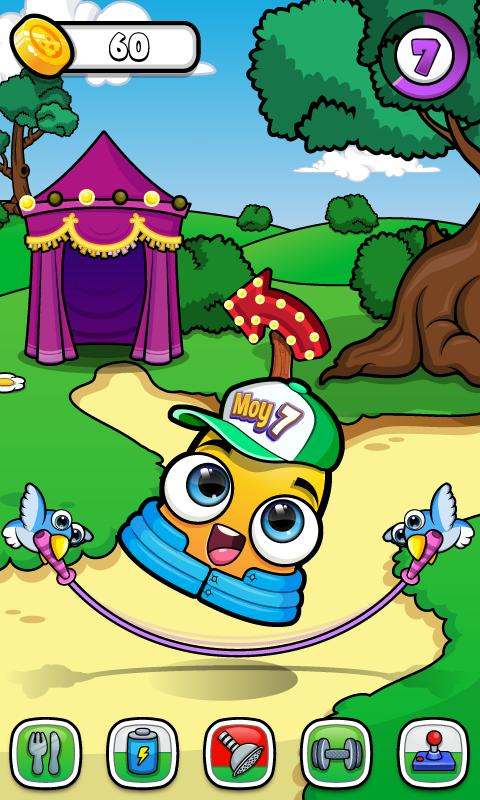 Moy 7 the Virtual Pet Game poster screenshot 2