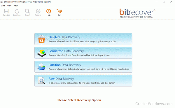 BitRecover Virtual Drive Recovery Wizard 4.1 Crack + Serial Key