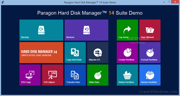 Paragon Hard Disk Manager 15 Suite 10.1 Crack With Activation Code