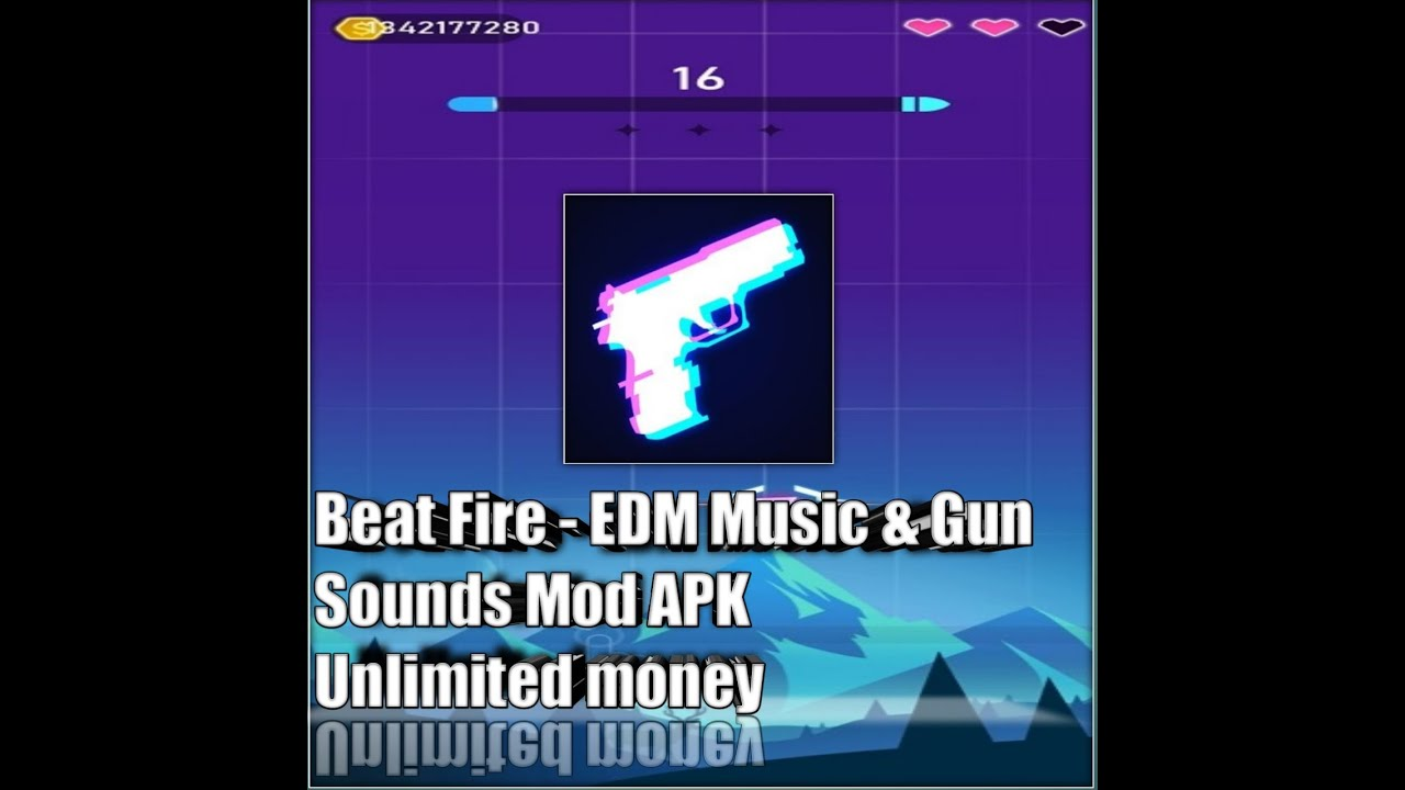 Image result for Beat Fire – EDM Music & Gun Sounds Mod Apk (Unlimited Money)