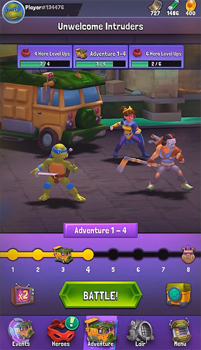 Image result for TMNT: Mutant Madness Mod Apk (Unlimited Money)