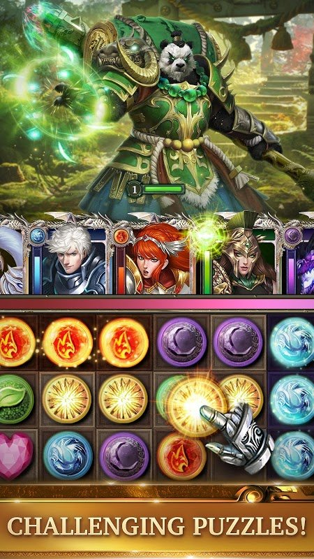 Legendary: Game of Heroes (MOD, Quick Win)