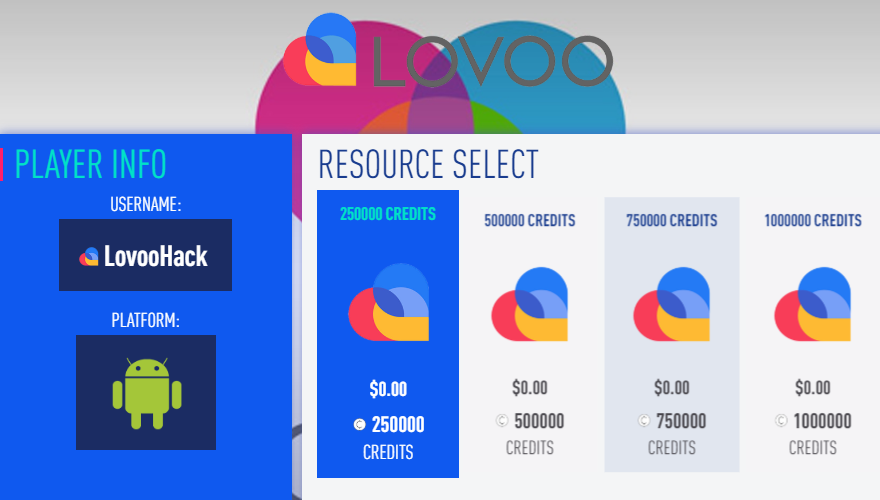 Lovoo Hack Cheat – Lovoo Mod Unlimited Credits | Ressources, Crédits, Astuces